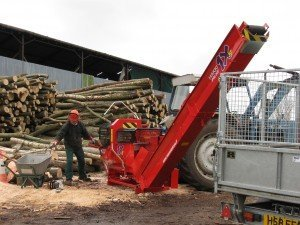 Mark Howards new log splitter